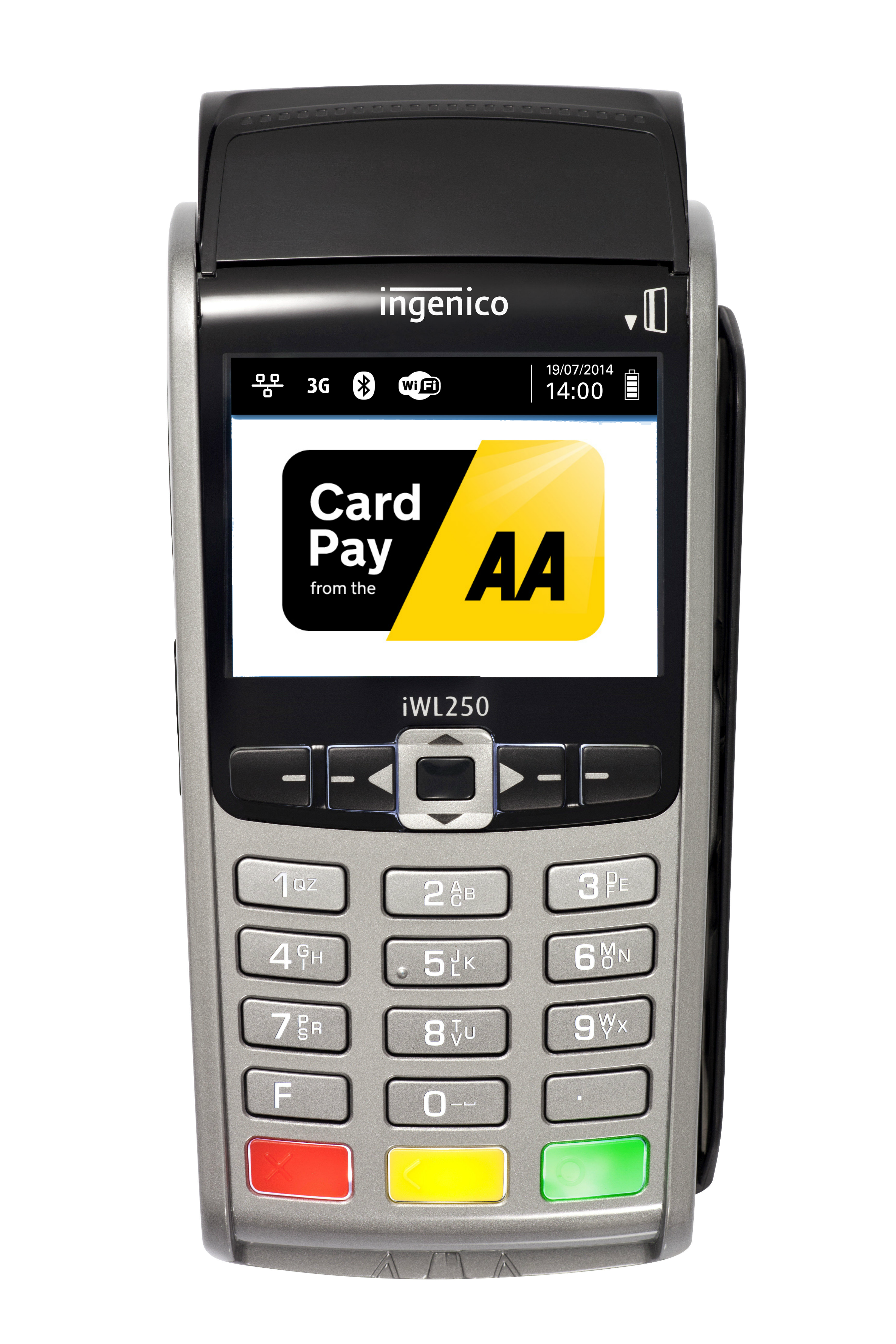 Large Card payment machine